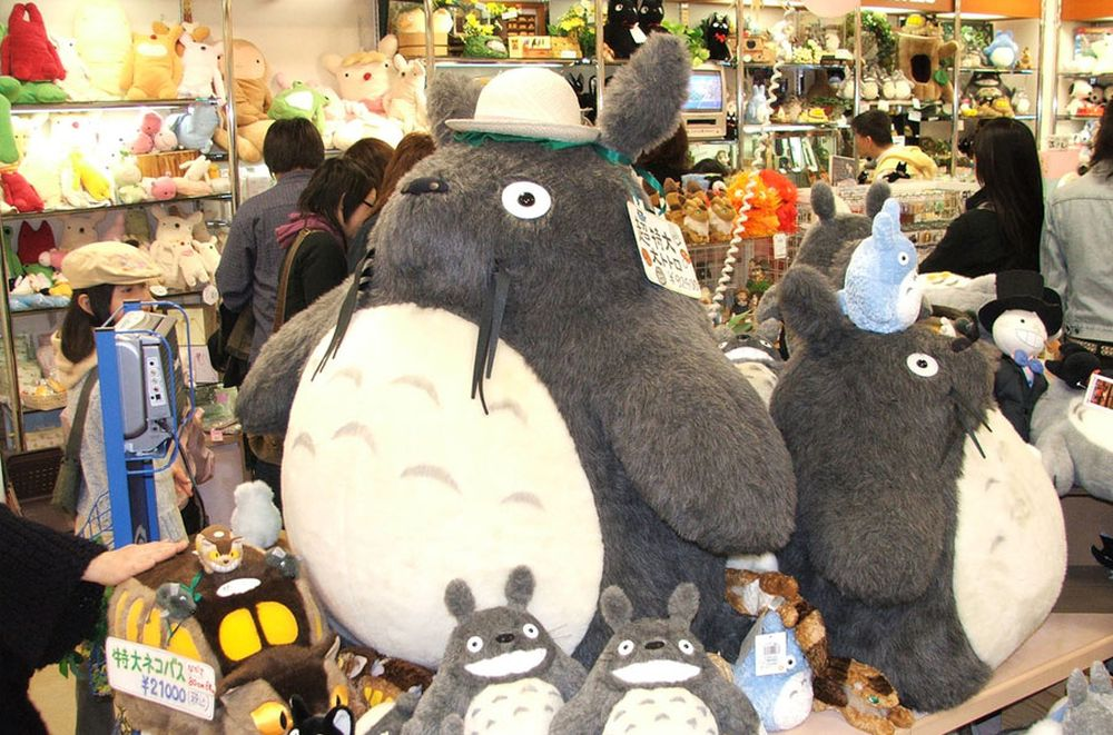 Mój sąsiad Totoro czyli szynszyla w anime - szynszyle - chillbill
