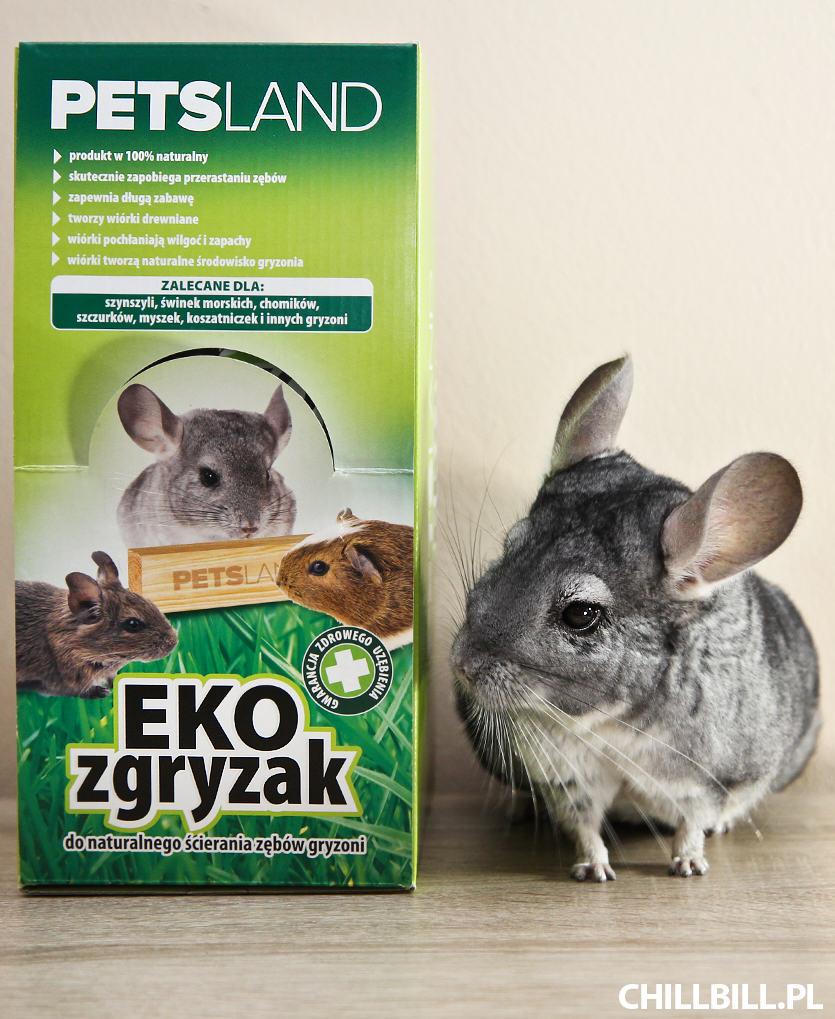 Test ekozgryzaka od Petsland