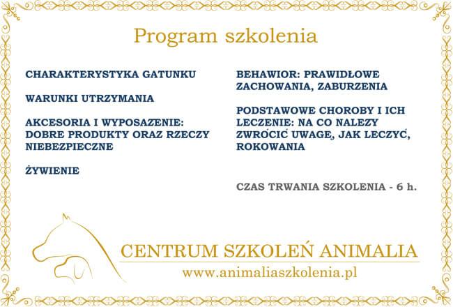 certyfikat szkolenia Joanna Nowak