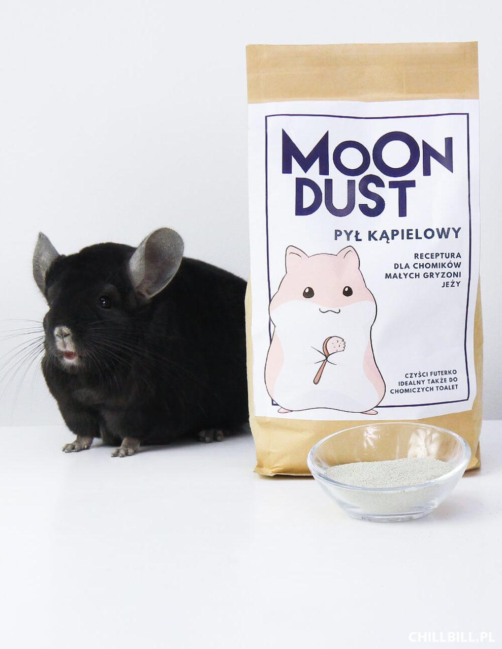 moon dust piasek dla chomików