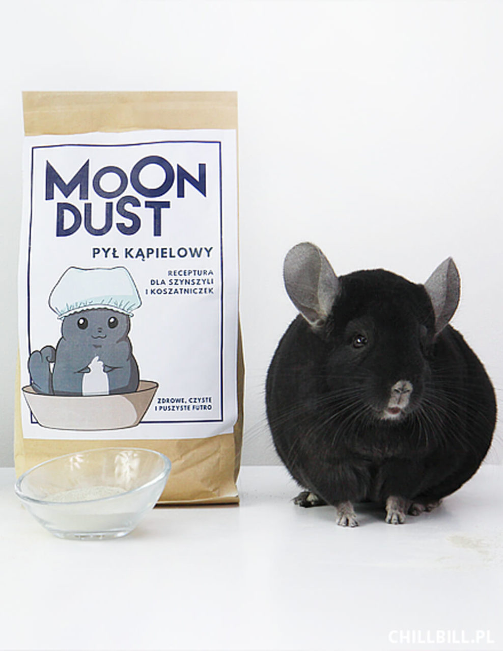 Moon dust piasek dla szynszyli