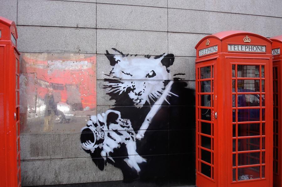 szynszyle w Londynie