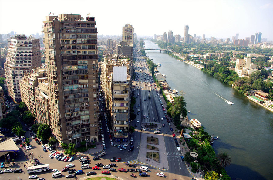 szynszyle w Egipcie